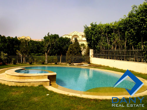 Residential Villa For Rent Semi Furnished in Katameya Heights Great Cairo Egypt
