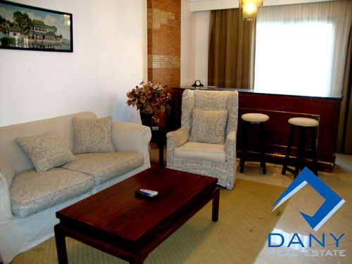 Residential Apartment For Rent Furnished in Al Rehab City Great Cairo Egypt