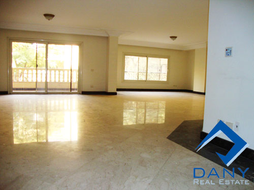 Residential Apartment For Rent Not Furnished in Maadi Sarayat Great Cairo Egypt