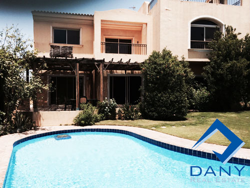 Residential Villa For Rent Furnished in Arabella Katameya Great Cairo Egypt