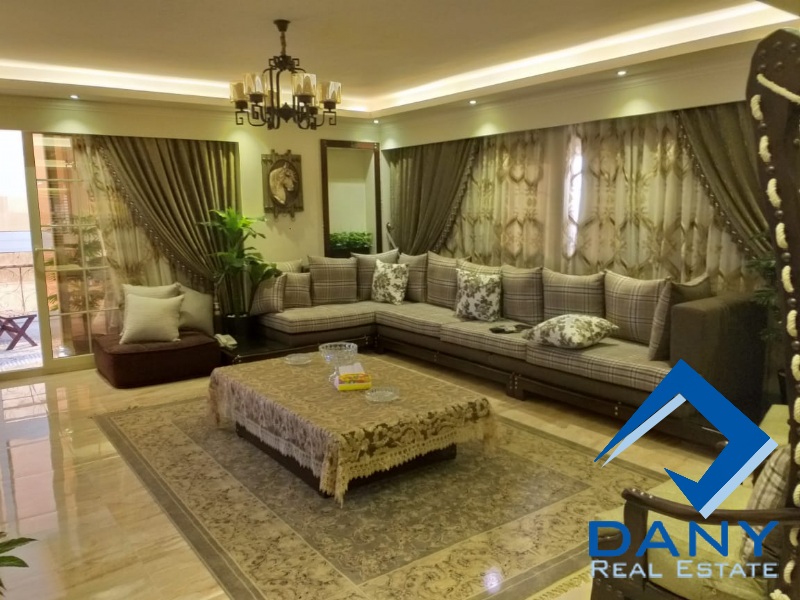Residential Apartment For Rent Furnished in Zahraa El Maadi - Great Cairo - Egypt