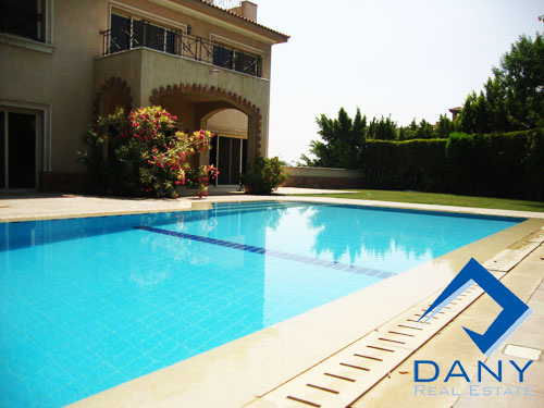 Residential Duplex For Rent Semi Furnished in Katameya Heights Great Cairo Egypt