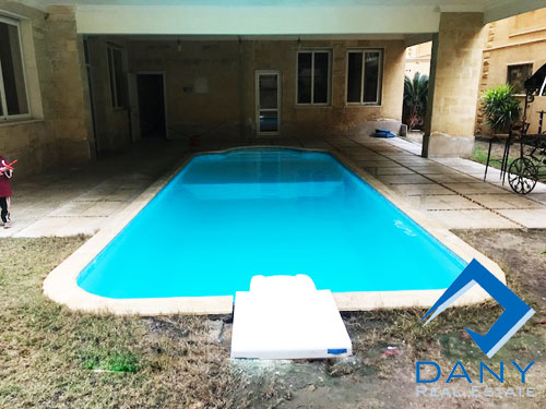 Residential Duplex For Rent Semi Furnished in West Golf Great Cairo Egypt