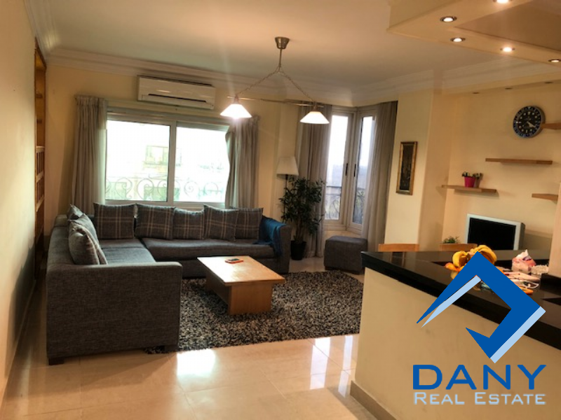 Residential Duplex For Rent Furnished in Maadi Sarayat - Great Cairo - Egypt