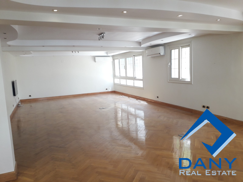 Residential Duplex For Rent Semi Furnished in Maadi Sarayat - Great Cairo - Egypt