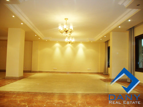 Residential Ground Floor Apartment For Rent Semi Furnished in Maadi Old Great Cairo Egypt