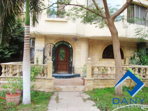 Residential Ground Floor Apartment For Sale in Maadi Great Cairo Egypt