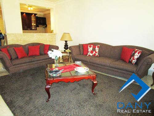 Residential Ground Floor Apartment For Rent Furnished in Katameya Heights Great Cairo Egypt