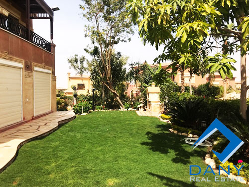 Residential Ground Floor Apartment For Rent Furnished in Lake View Great Cairo Egypt