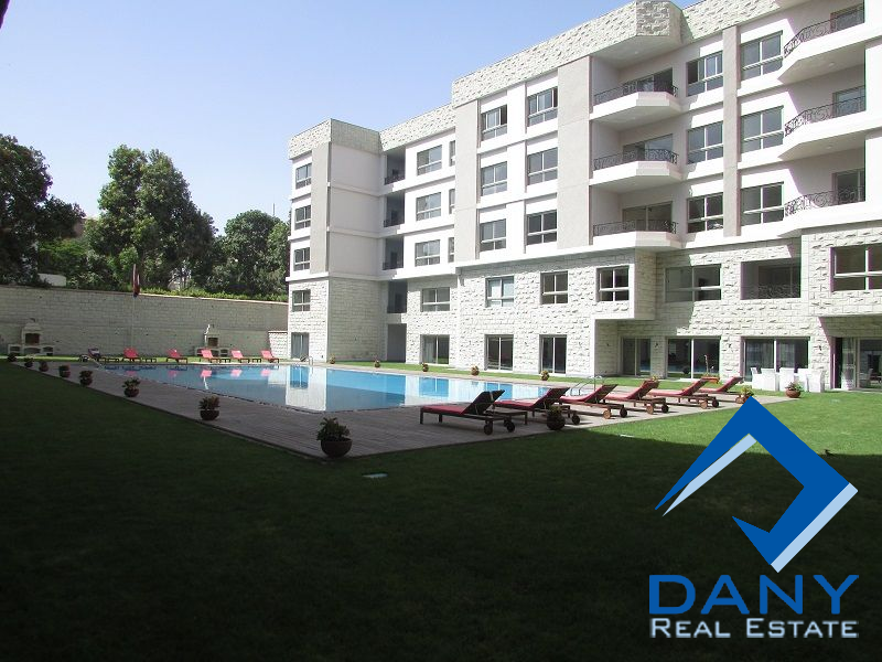 Residential Ground Floor Apartment For Rent Furnished in Maadi Sarayat Great Cairo Egypt