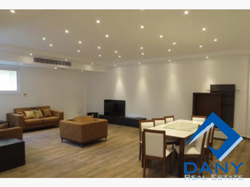 Residential Ground Floor Apartment For Rent Furnished in New Cairo - Katameya - Great Cairo - Egypt