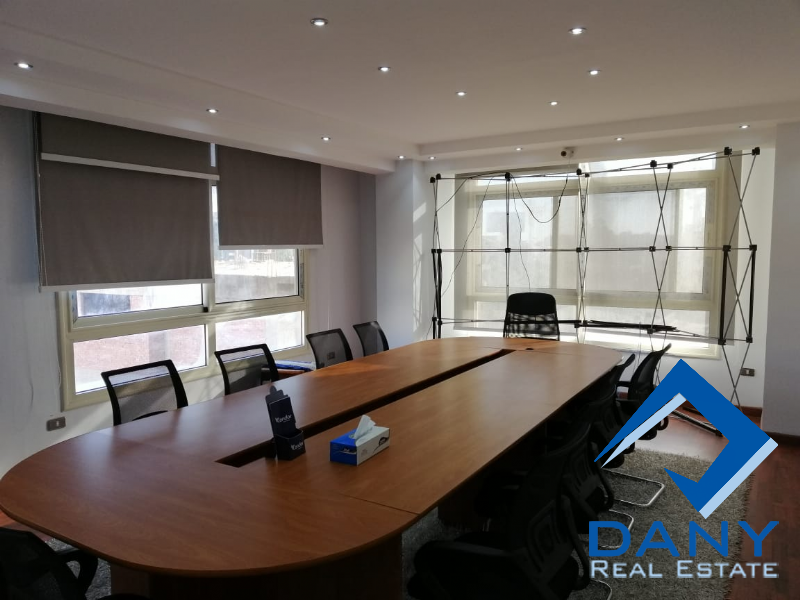 Administrative Offices For Rent Furnished in New Maadi Great Cairo Egypt
