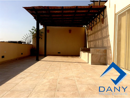 Residential Penthouse For Rent Furnished in Maadi Digla Great Cairo Egypt