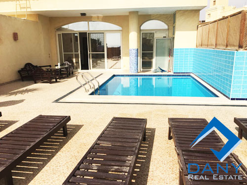 Residential Penthouse For Rent Furnished in West Golf Great Cairo Egypt