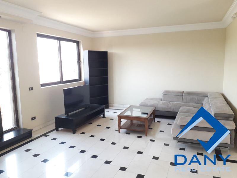 Residential Penthouse For Rent Furnished in Maadi Sarayat Great Cairo Egypt