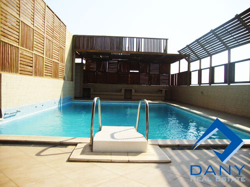 Residential Triplex For Rent Semi Furnished in Maadi Digla Great Cairo Egypt