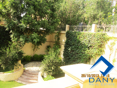 Residential Villa For Rent Furnished in West Golf Great Cairo Egypt