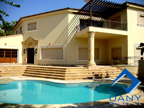 Residential Villa For Sale in Katameya Heights Cairo Egypt
