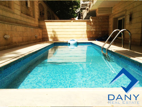 Residential Villa For Rent Semi Furnished in Maadi Old Great Cairo Egypt