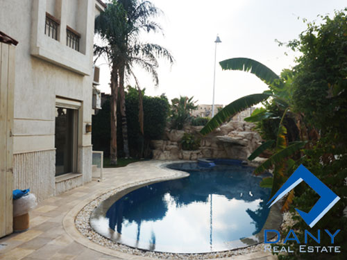 Residential Villa For Rent Furnished in Katameya Residence Great Cairo Egypt