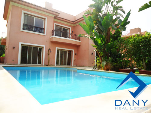 Dany Real Estate :: Residential Villa in Katameya Heights