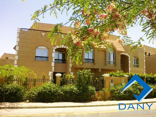 Residential Villa For Rent Furnished in 6 October City Great Cairo Egypt