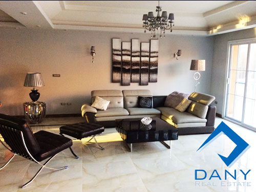 Residential Villa For Rent Furnished in Al Rehab City Great Cairo Egypt