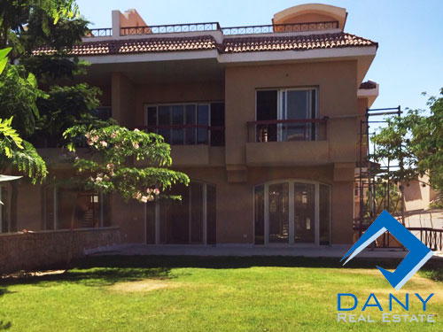 Residential Villa For Rent Not Furnished in New Cairo - Katameya Great Cairo Egypt