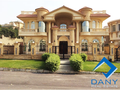 Residential Villa For Sale in West Golf Great Cairo Egypt