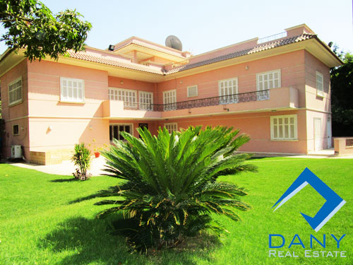 Commercial Villa For Rent Furnished in Maadi Sarayat Great Cairo Egypt