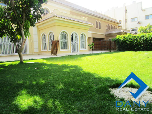 Residential Villa For Rent Semi Furnished in West Golf Great Cairo Egypt