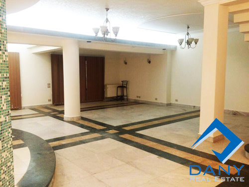 Residential Villa For Rent Furnished in Maadi Great Cairo Egypt