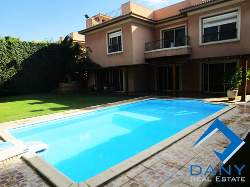 Residential Villa For Rent Furnished in Katameya Heights Cairo Egypt