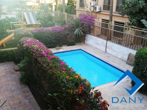 Residential Villa For Rent Furnished in Maadi Digla Great Cairo Egypt