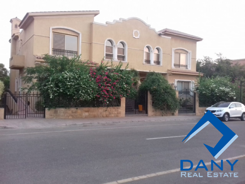 Residential Villa For Rent Semi Furnished in Arabella Katameya Great Cairo Egypt