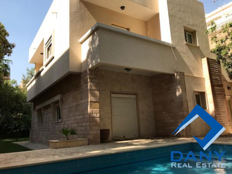 Residential Villa For Rent Semi Furnished in Maadi Digla - Great Cairo - Egypt