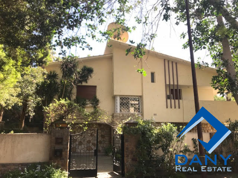 Residential Villa For Rent Furnished in Maadi Sarayat - Great Cairo - Egypt