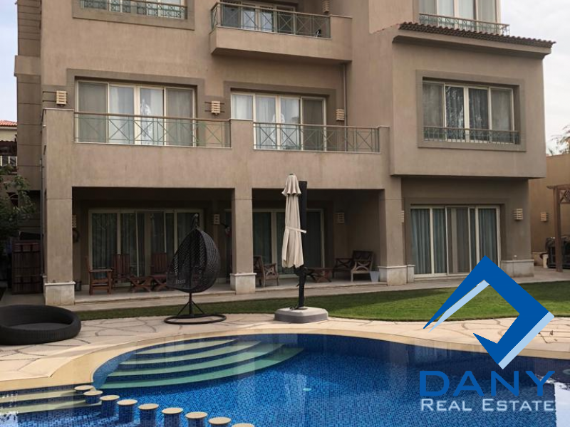 Residential Villa For Sale in Lake View Great Cairo Egypt