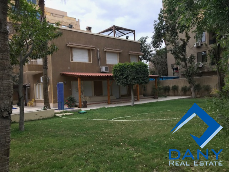 Residential Villa For Rent Semi Furnished in Maadi Sarayat - Great Cairo - Egypt