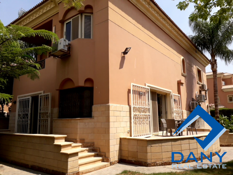 Residential Villa For Rent Furnished in New Cairo - Katameya - Great Cairo - Egypt