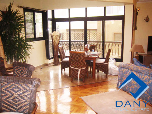 Residential Apartment For Rent Furnished in Maadi Sarayat Great Cairo Egypt