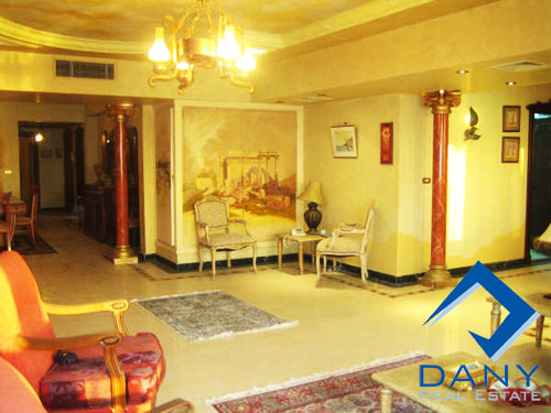 Residential Apartment For Rent Furnished in Maadi Cornish Great Cairo Egypt