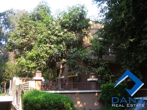 Residential Villa For Rent Semi Furnished in Maadi Sarayat Great Cairo Egypt