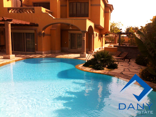 Residential Villa For Rent Semi Furnished in 6 October City Great Cairo Egypt